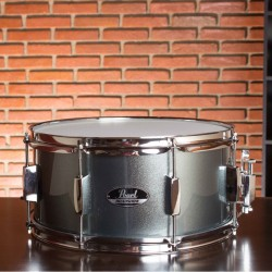 Caixa Pearl RoadShow Charcoal Metallic 14x6'5""