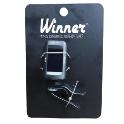Afinador Cromático Winner WA-29 Clip-on Black