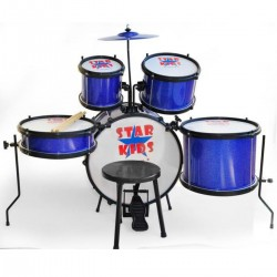 BATERIA STAR KIDS AZUL