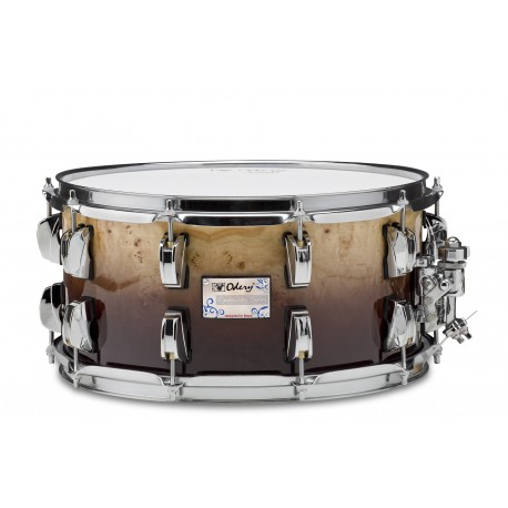CAIXA 14 X 8 EYEDENTITY SERIES 100% MAPLE - C/MAPPA BURL - DEEP BROWN FADE
