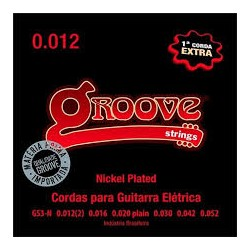 ENCORDOAMENTO GROOVE GUITARRA 0.012 - GS3-N